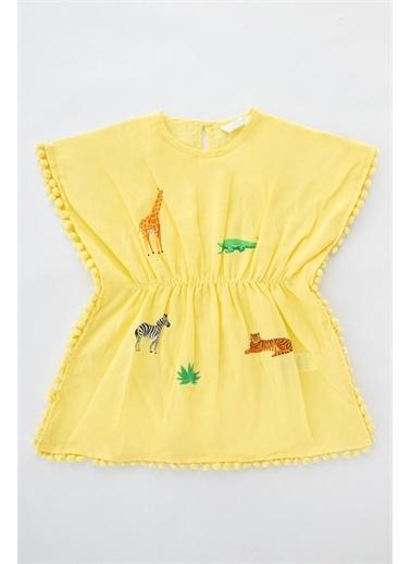 Penti Kız Çocuk Safari Kaftan Renkli